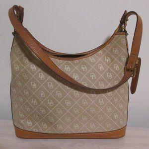 Dooney & Bourke Tan Signature Shoulder Bag